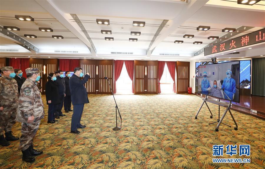 (时政)(1)习近平在湖北省考察新冠肺炎疫情防控工作