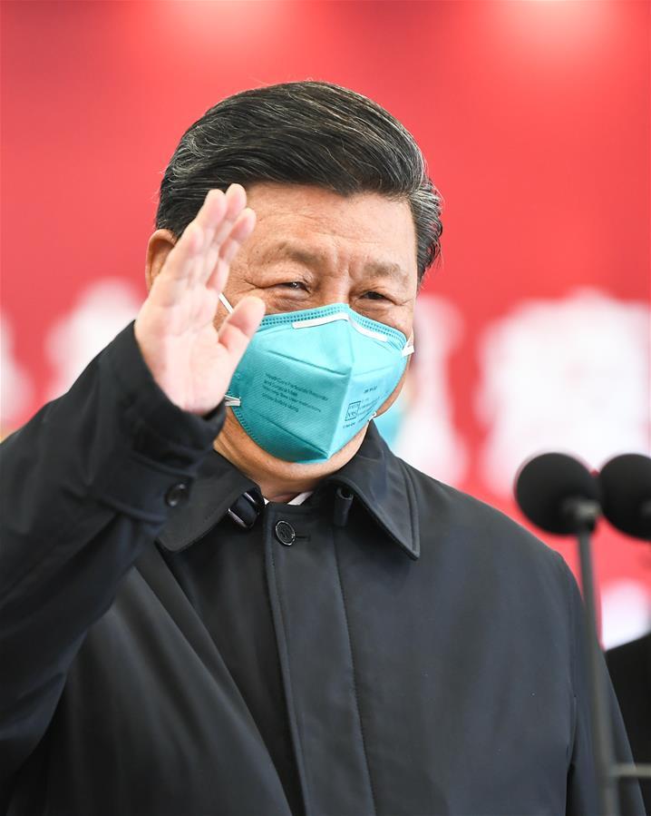 (时政)(11)习近平在湖北省考察新冠肺炎疫情防控工作