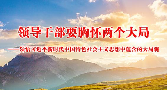 领导干部要胸怀两个大局 ——领悟习近平新时代中国特色社会主义思想中蕴含的大局观